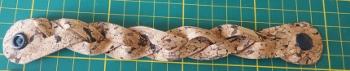 Flechtarmband aus Korkstoff