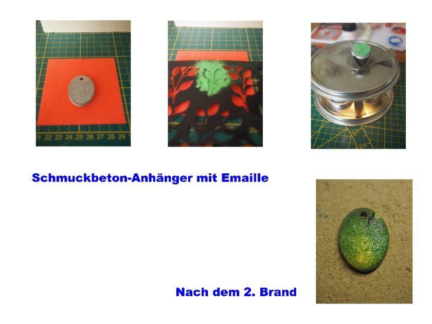 Schmuckbeton mit Emaille 2
