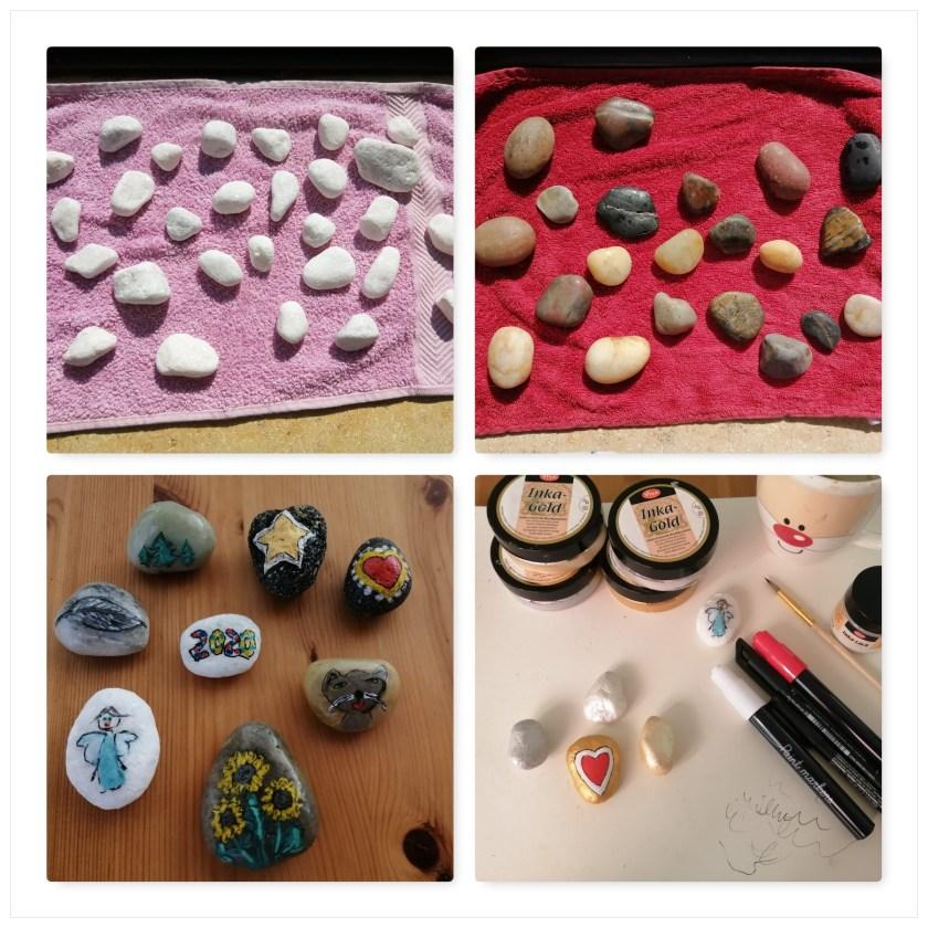 Steine bemalen mit Stiften von Action-3