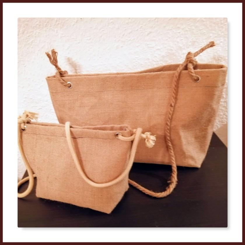 Rupfen-Taschen