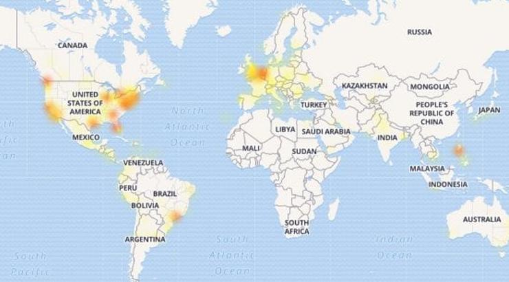 Facebook e Instagram down, gli utenti disperati chiamano la polizia