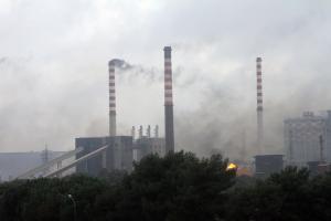 Tromba d'aria su Taranto centra l'Ilva
