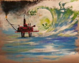 Disegno di Aladin Hussain Al Baraduni