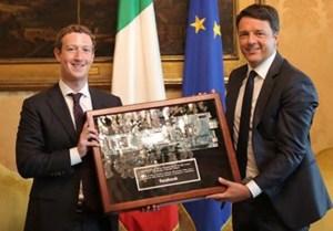 Zuckerberg-con-Renzi