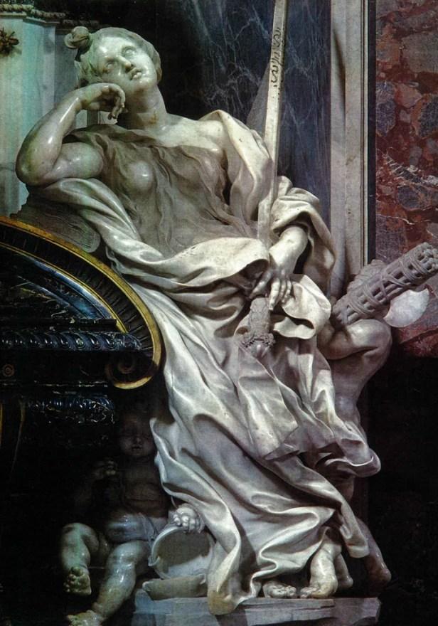 Allegoria della Giustizia di Bernini