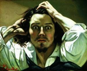 Gustave Courbet - Self-Portrait (The Desperate Man) ca. 1845