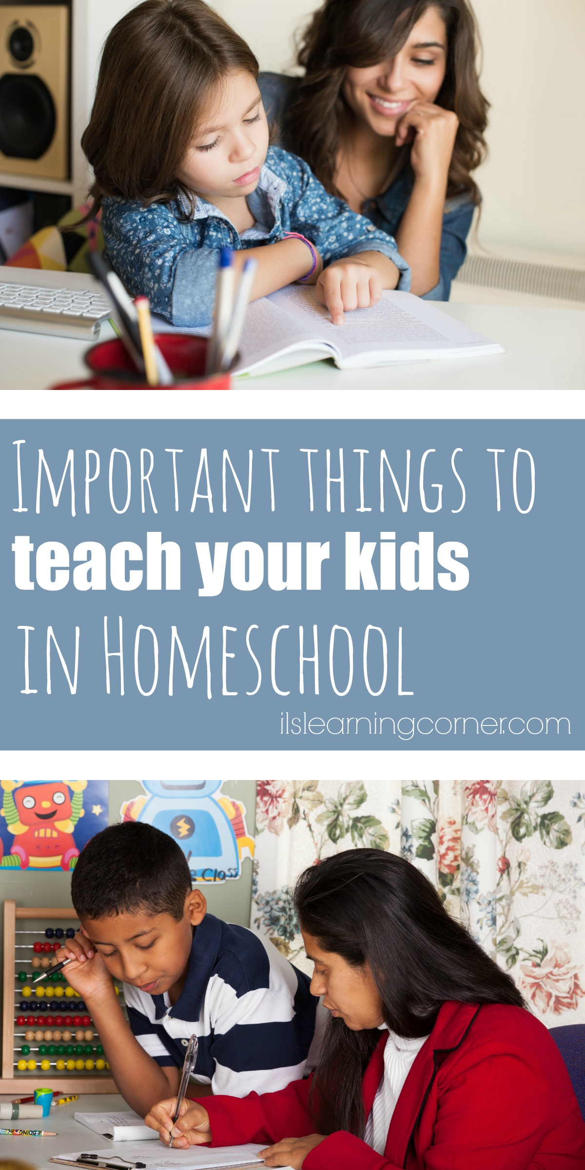 Important Things to Teach Your Kids in Homeschool ...