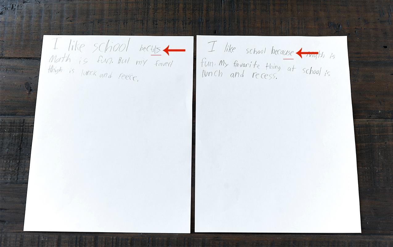 Writing Numbers Backwards Age 6