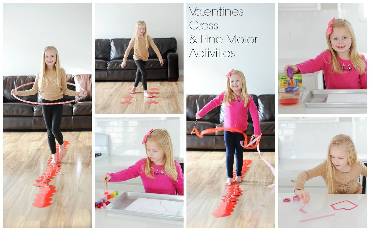Brain Building Valentines Activities Midline Crossing