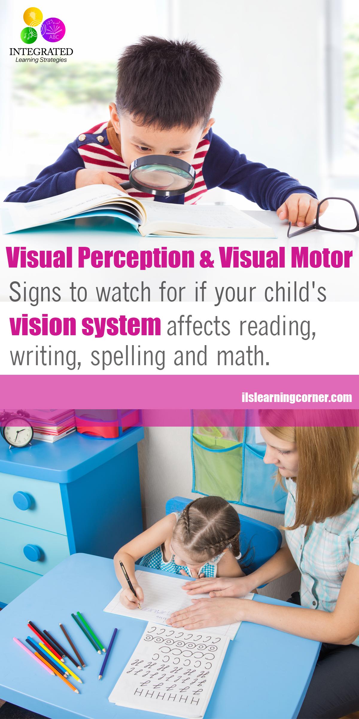 Visual Development Why Poor Visual Perception Skills Could Make Poor Readers