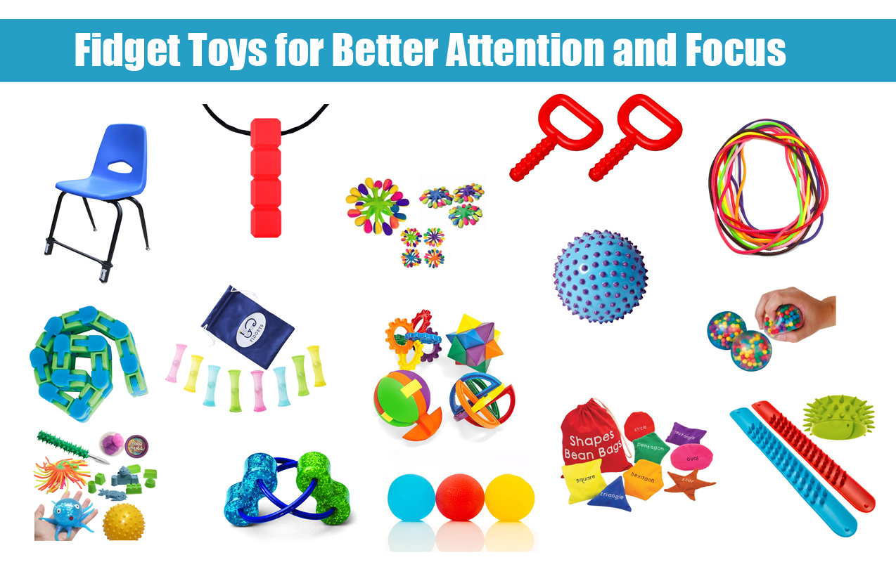 Fidget Tools For Better Attention And Focus In The