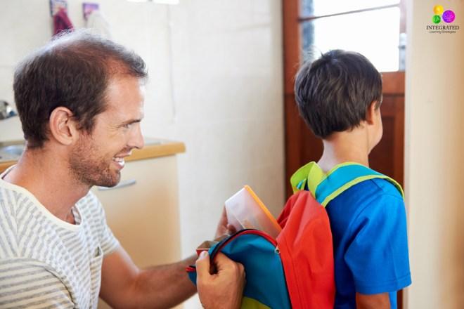 Back to School: A Nightly Routine to Help Sensory Kids | ilslearningcorner.com