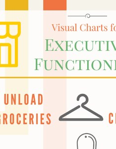 Executive function visual charts for kids struggling with  organization also rh ilslearningcorner
