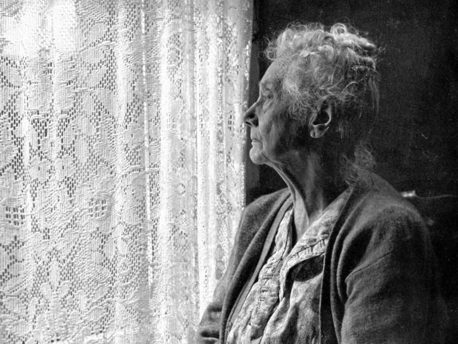Anziani abbandonati