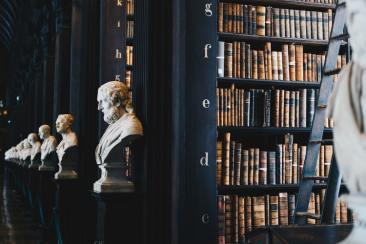 Old Library, Trinity College, Dublino