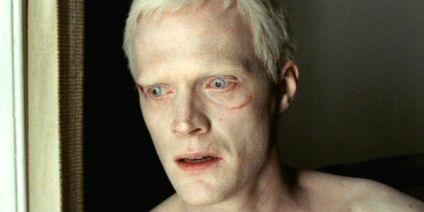 """il volto di Silas, personaggio del film """"il codice Da Vinci"""""""