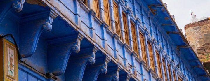 Les façades bleues de Jodhpur