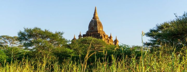 Un temple à Bagan