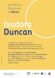 Locandina Duncan 26-5-17