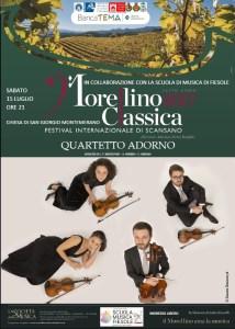 Locandina Quartetto Adorno