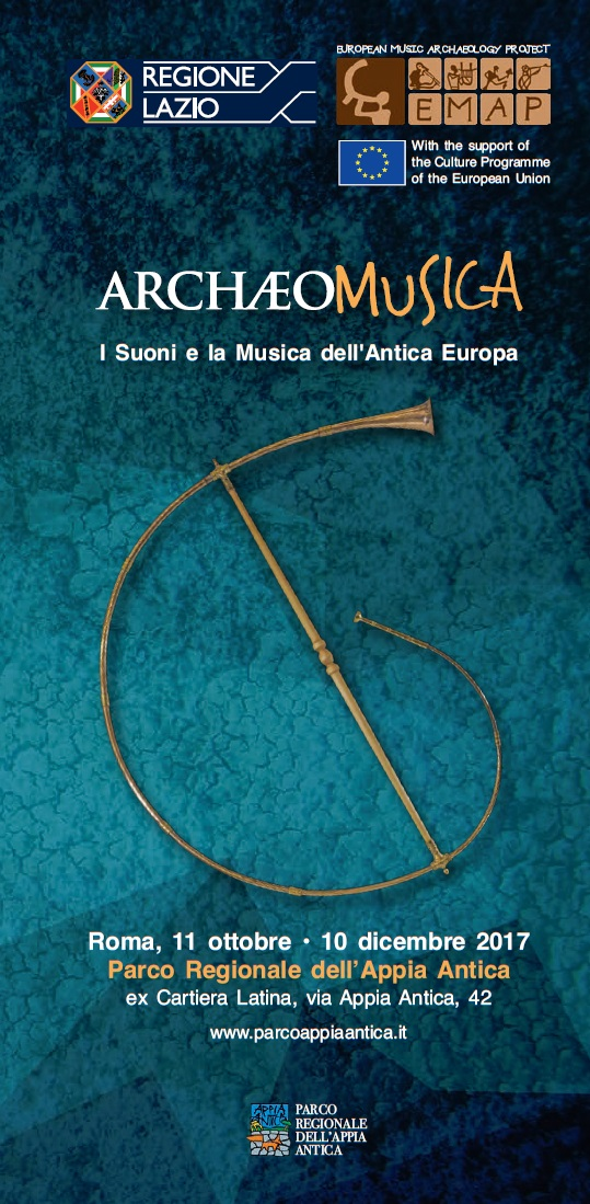 Alla Ex-Cartiera Latina la mostra ARCHÆOMUSICA