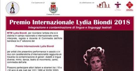 Aperte le candidature per il Premio Lydia Biondi 2018