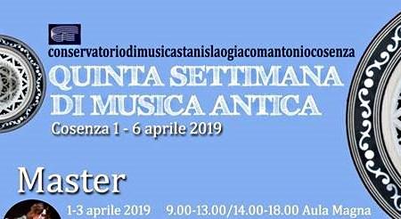 musica antica Cosenza Stanislao Giacomantonio