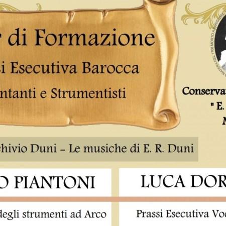 Conservatorio E, R, Duni musica antica