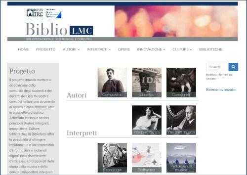 Biblio LMC Licei musicali e coreutici