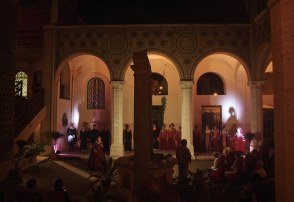 Chiostro del Governatorato Ostia danze storiche