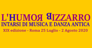 Early Music & Dance Summer Workshop Italy