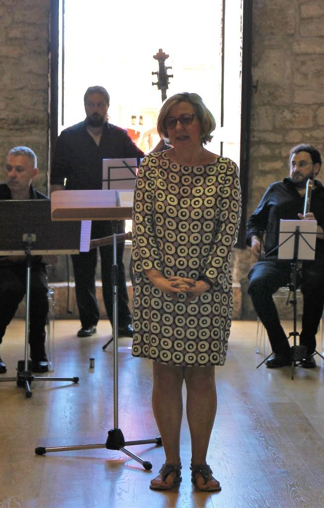 Chiara Tiboni Musica antica Frosinone