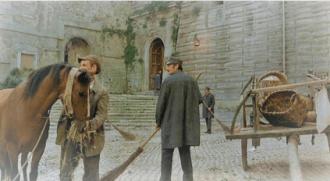 Centro storico di mentana set cinema