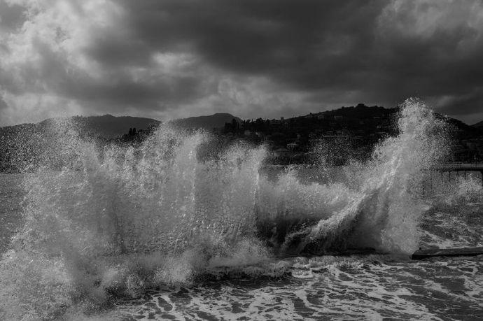 Rapallo, mareggiata
