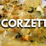 Corzetti ricetta