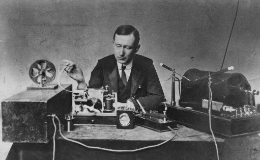 Guglielmo Marconi, esperimenti radiotelegrafo, yacht Elettra