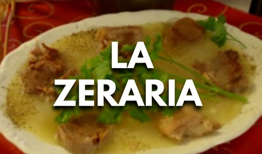 Zeraria, ricetta della Zeraria