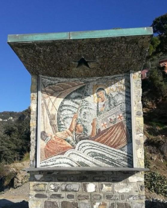 Punta Chiappa, altare Stella Maris