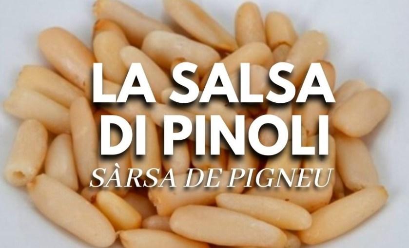 salsa di pinoli