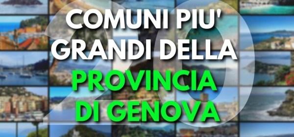 Comuni più piccoli Liguria