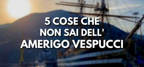 Amerigo Vespucci, nave scuola
