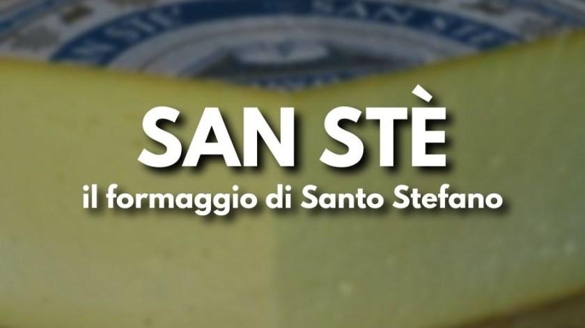 San Stè, formaggio di Santo Stefano d'Aveto