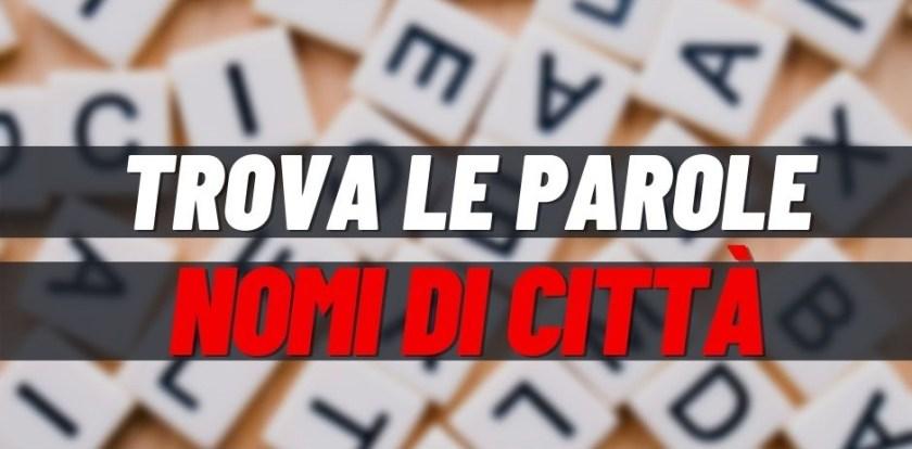 Giochi, nomi di città