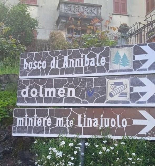 Rovegno, Bosco di Annibale e Dolmen