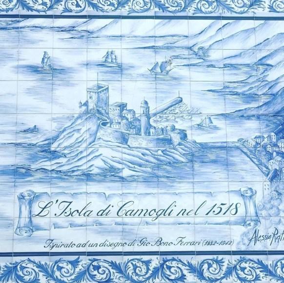 Camogli, isola di Camogli