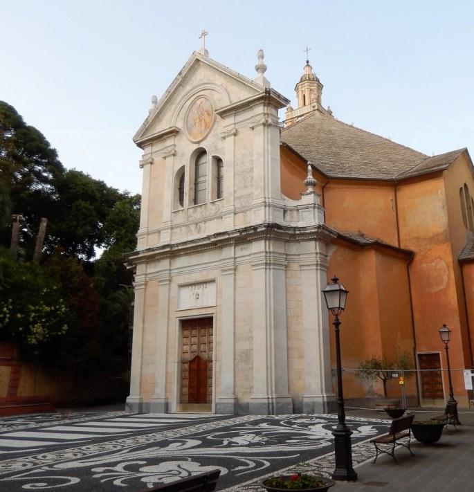Chiesa di San Martino, Zoagli