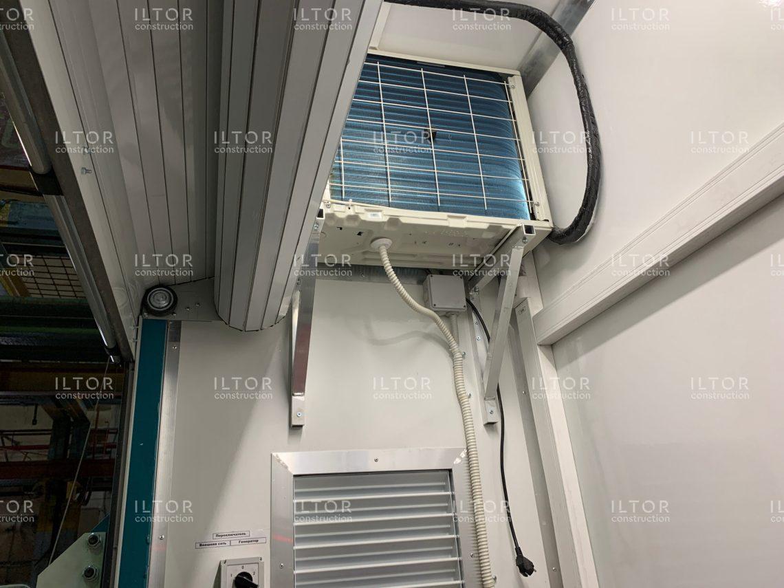 Агрегатный отсек контейнера переменного объема