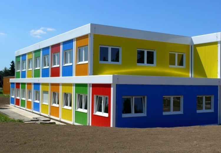 Детский сад из блок контейнеров