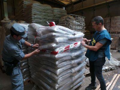 Sequestro pellet contaminato metalli pesanti
