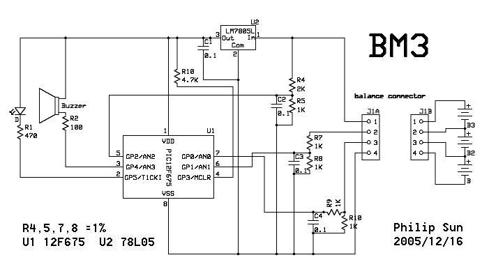 Monitor for Li-Ion / Li-Poly Bat